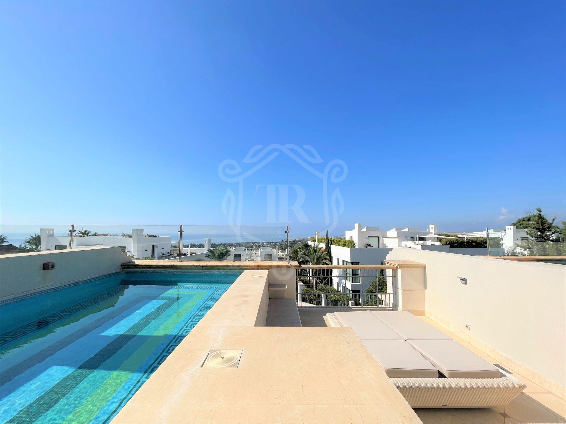 Outstanding 5-bedroom townhouse in Sierra Blanca del Mar, Marbella's Golden Mile