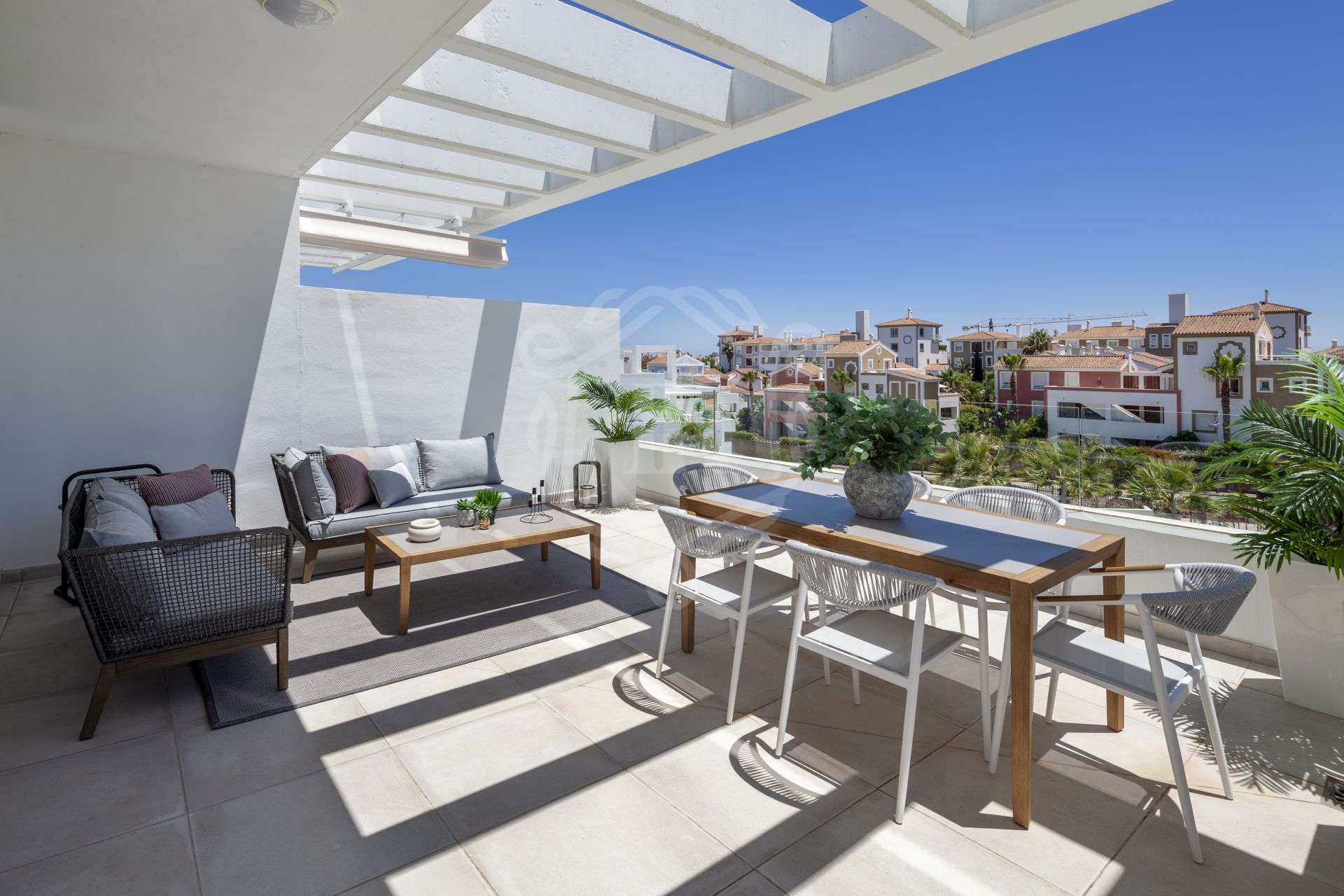 Stunning penthouse in Cortijo del Golf, Estepona's New Golden Mile