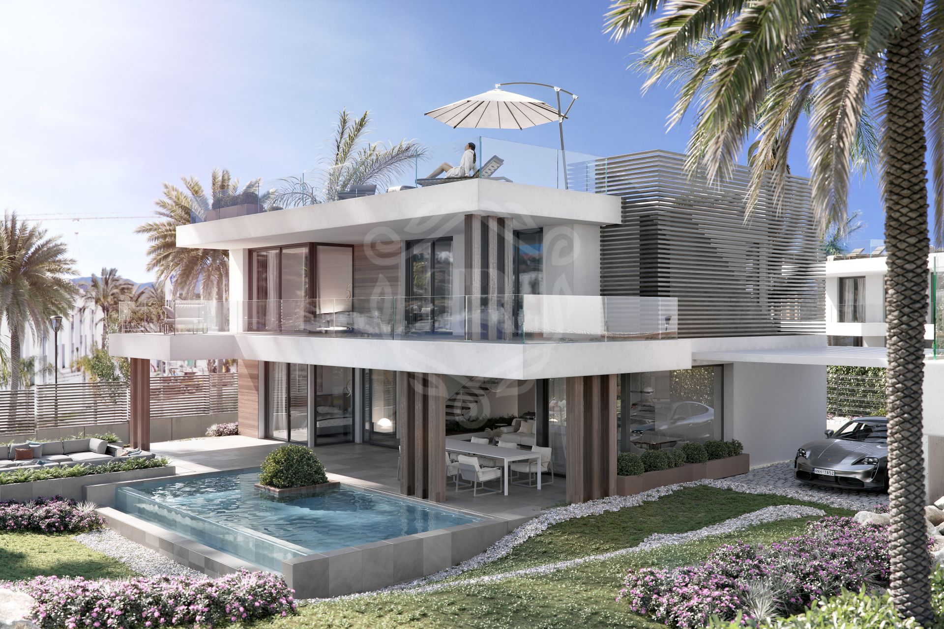 Brand new villas in Estepona's New Golden Mile - Silk