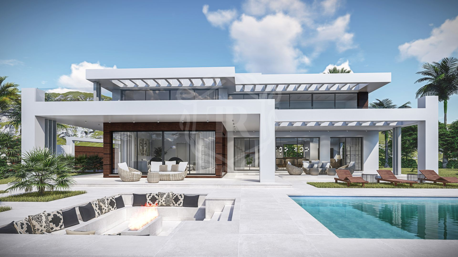Completely renovated modern and luxury villa in Las Chapas