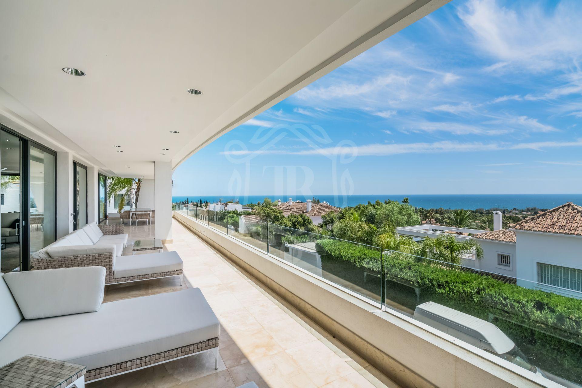 Duplex Penthouse for sale in Reserva de Sierra Blanca, Marbella Golden Mile