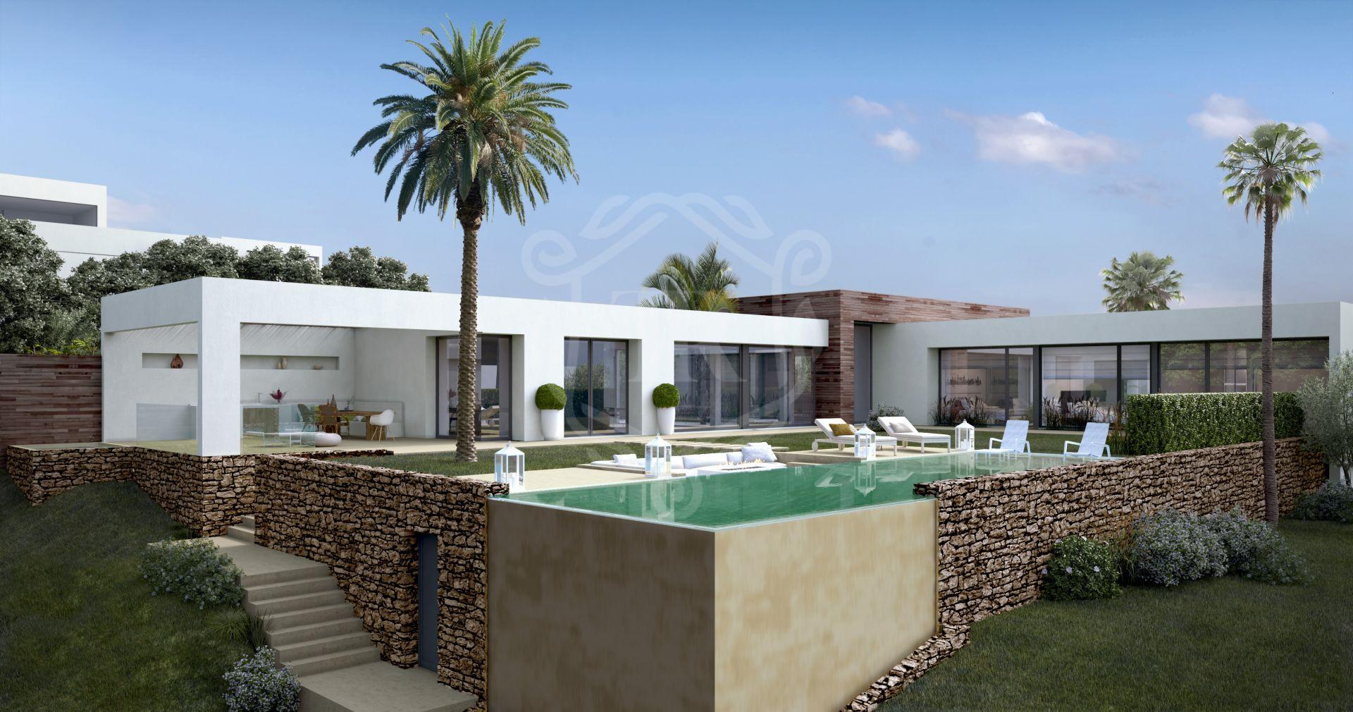 Excepcional proyecto de villa llave en mano en Los Altos de Los Monteros