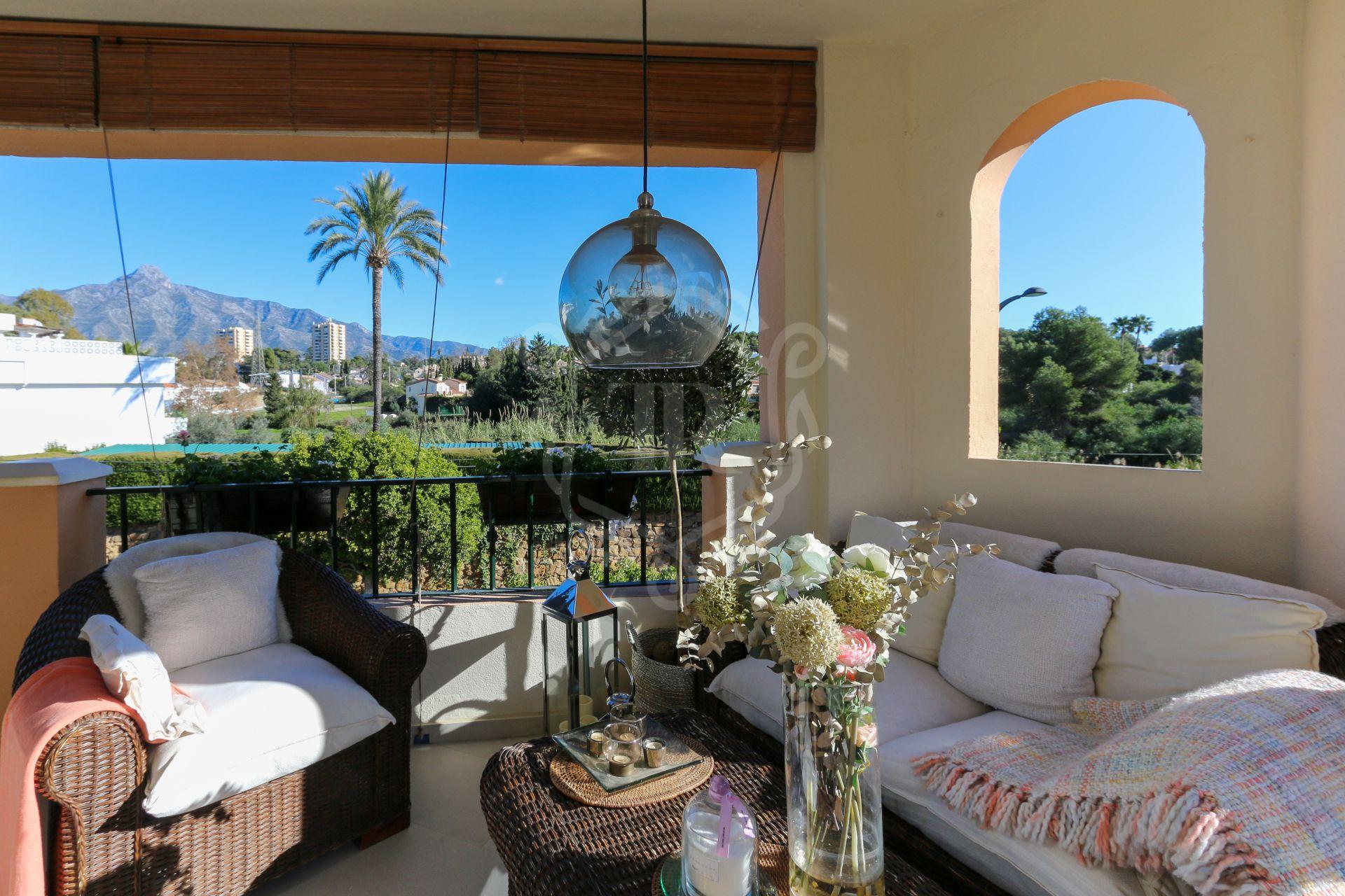 Precioso apartamento en Nueva Andalucia con vistas a la montaña