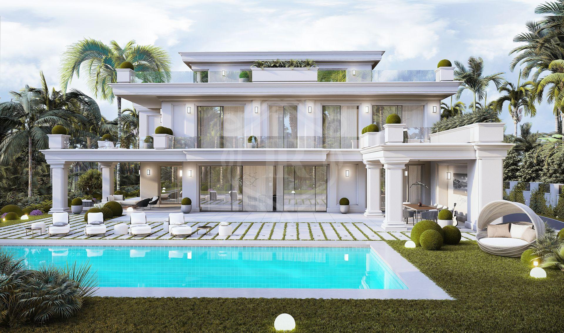 Brand new sophisticated villa in Las Lomas de Marbella club