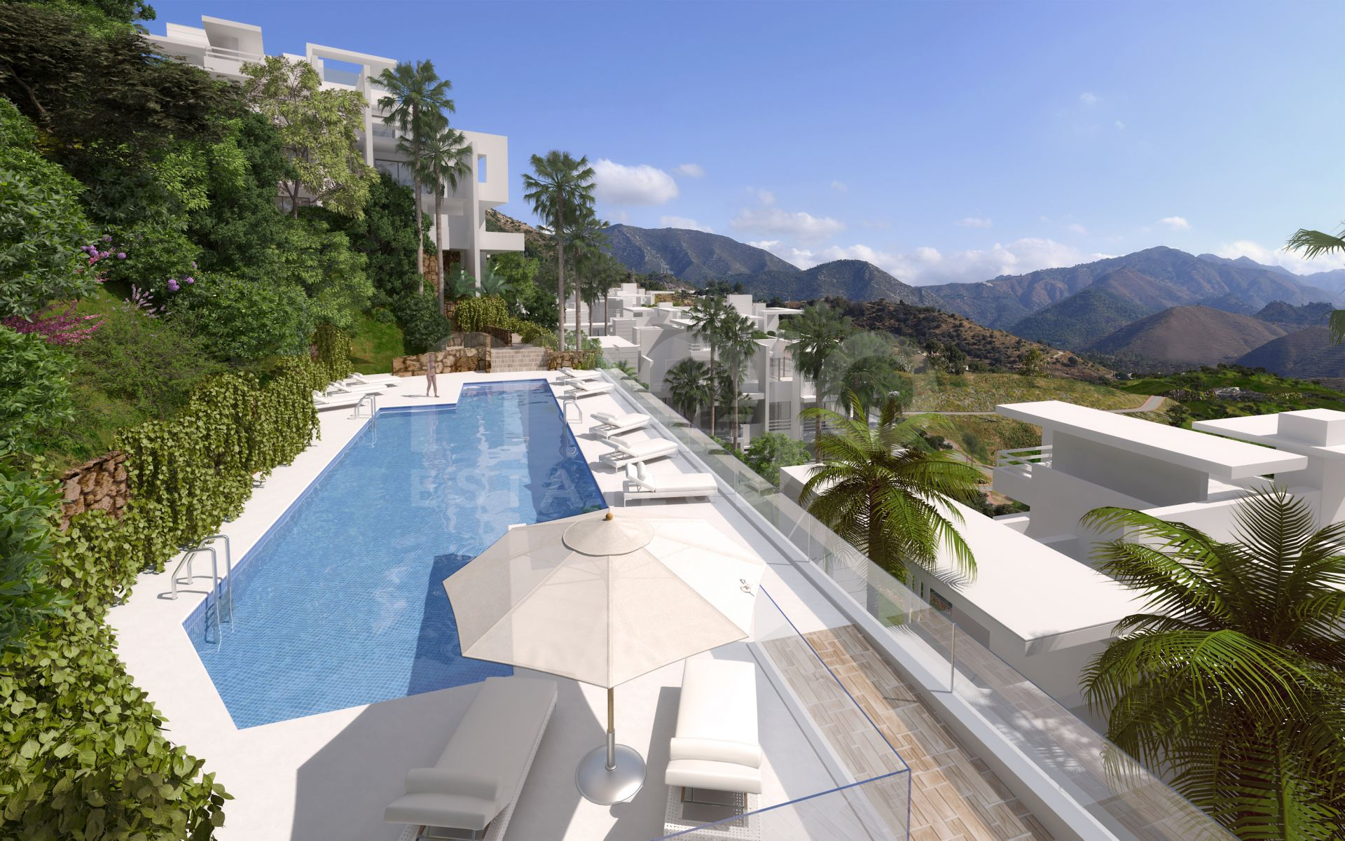 Beautiful Marbella Hillside Development With Panoramic Views
