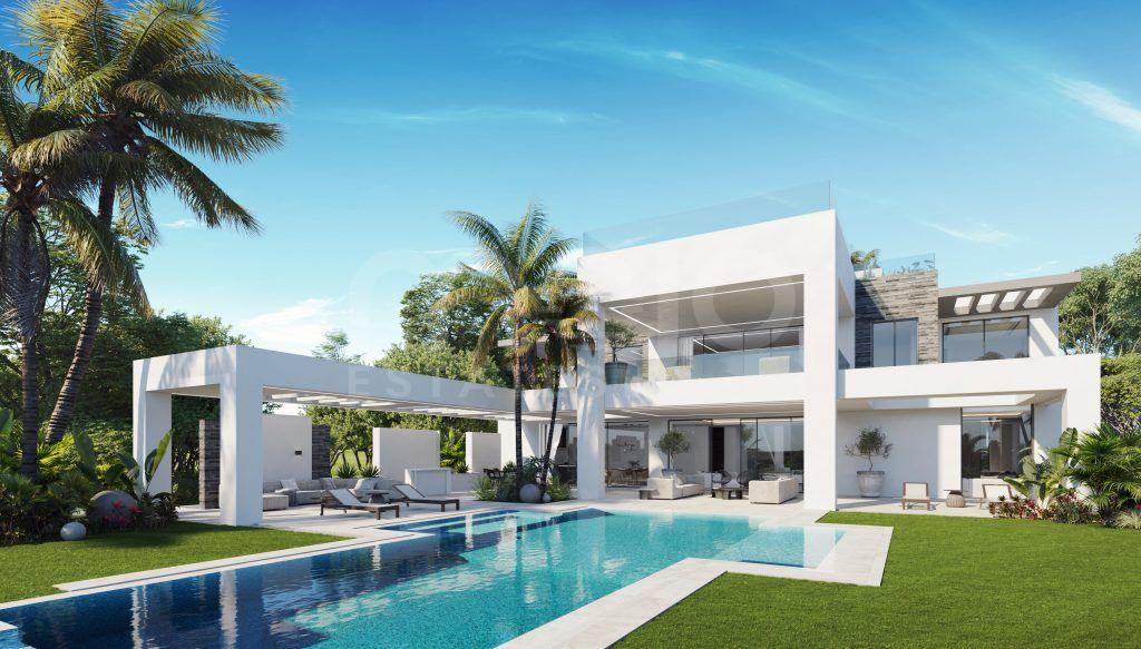 Villa till salu i Los Flamingos Golf, Benahavis