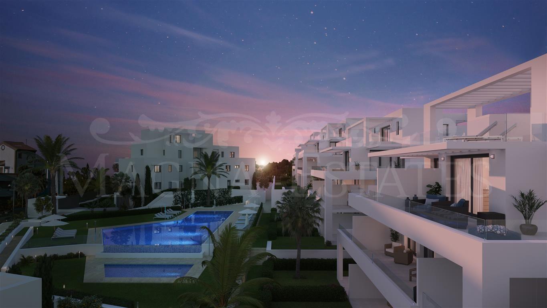 Apartments in the area of El Campanario, Estepona, New Golden Mile
