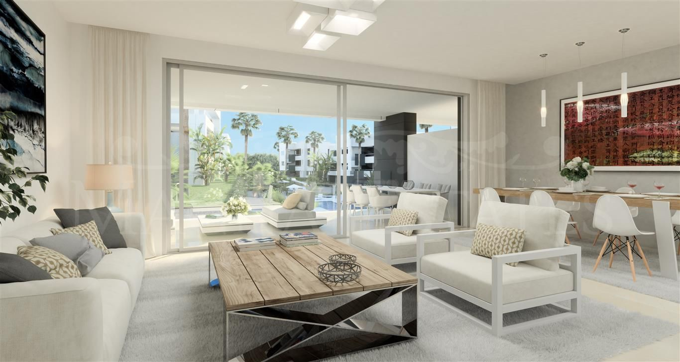 Brand new design apartments in New Golden Mile