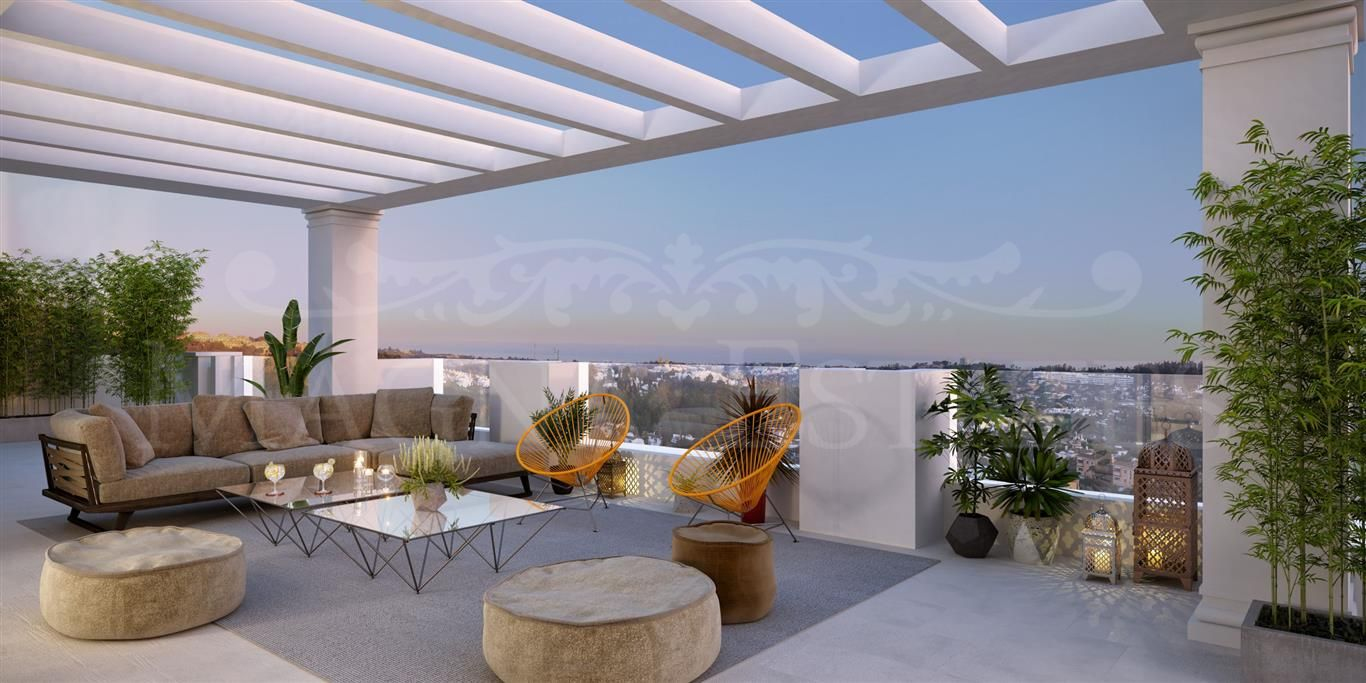 Duplex penthouse brand new and high luxury in Nueva Andalucía