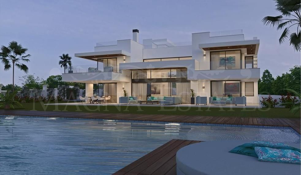 Spectacular large brand new villa in Guadalmina Baja, Marbella