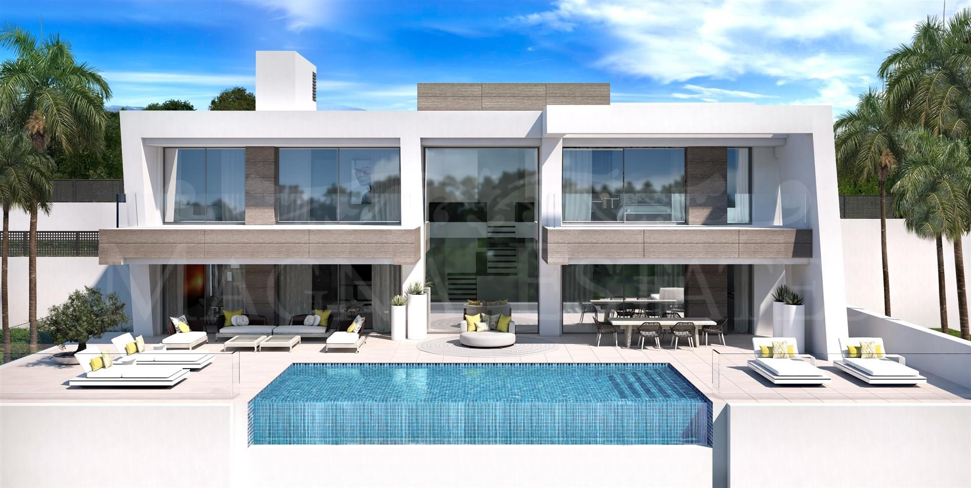 Contemporary design villas on the New Golden Mile