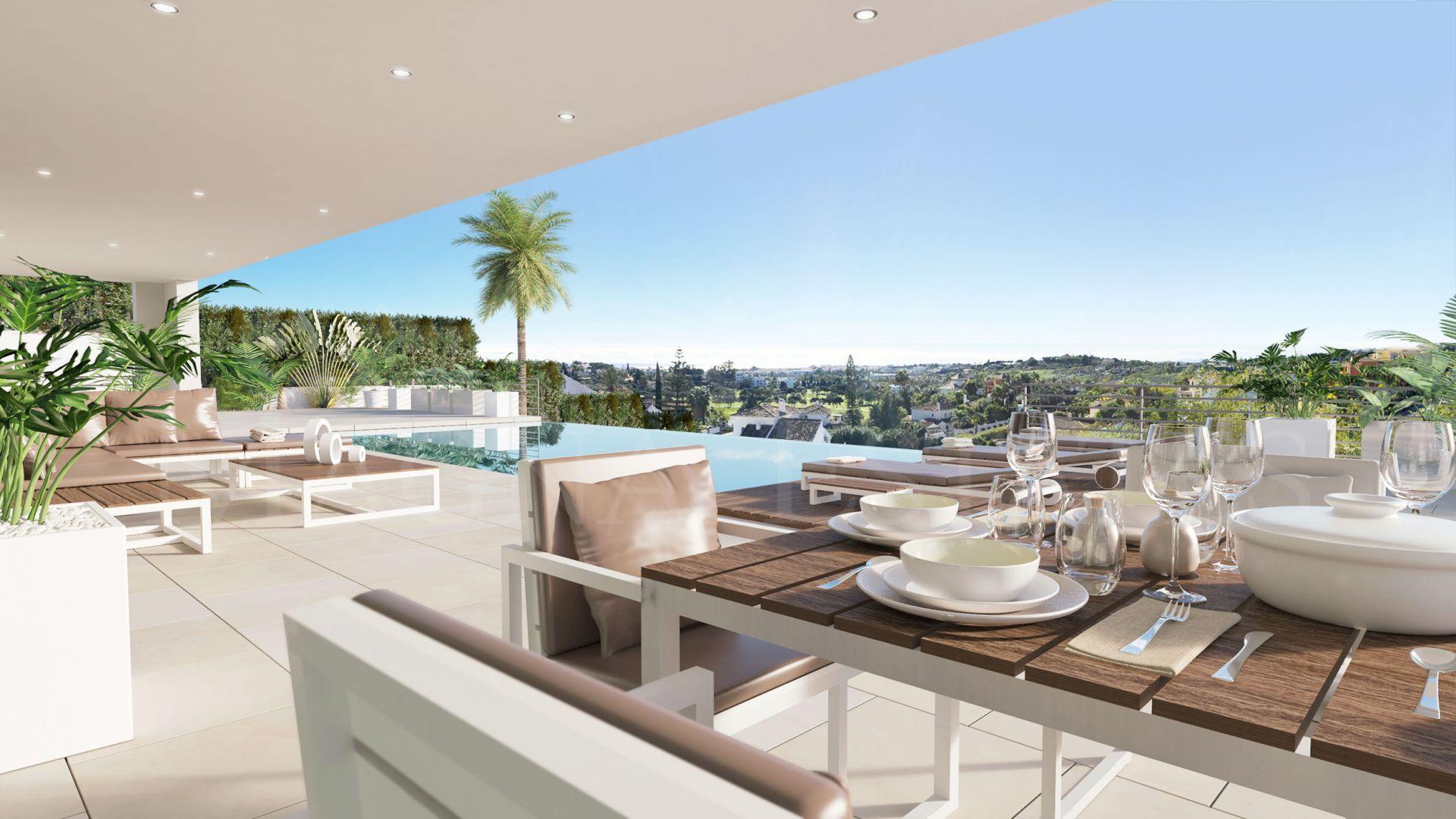 Luxury villa contemporary design in the Valle del Golf