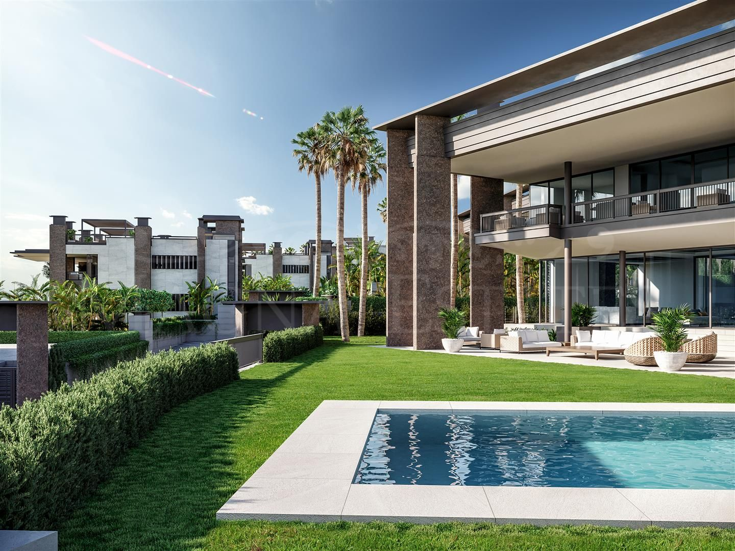 Brand new luxury villa in gated community in Nueva Andalucía