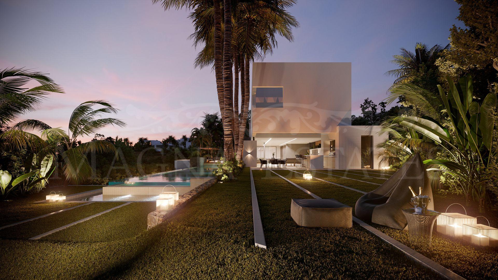 Majestuosa villa de estilo contemporáneo en La Alquería, Benahavís.