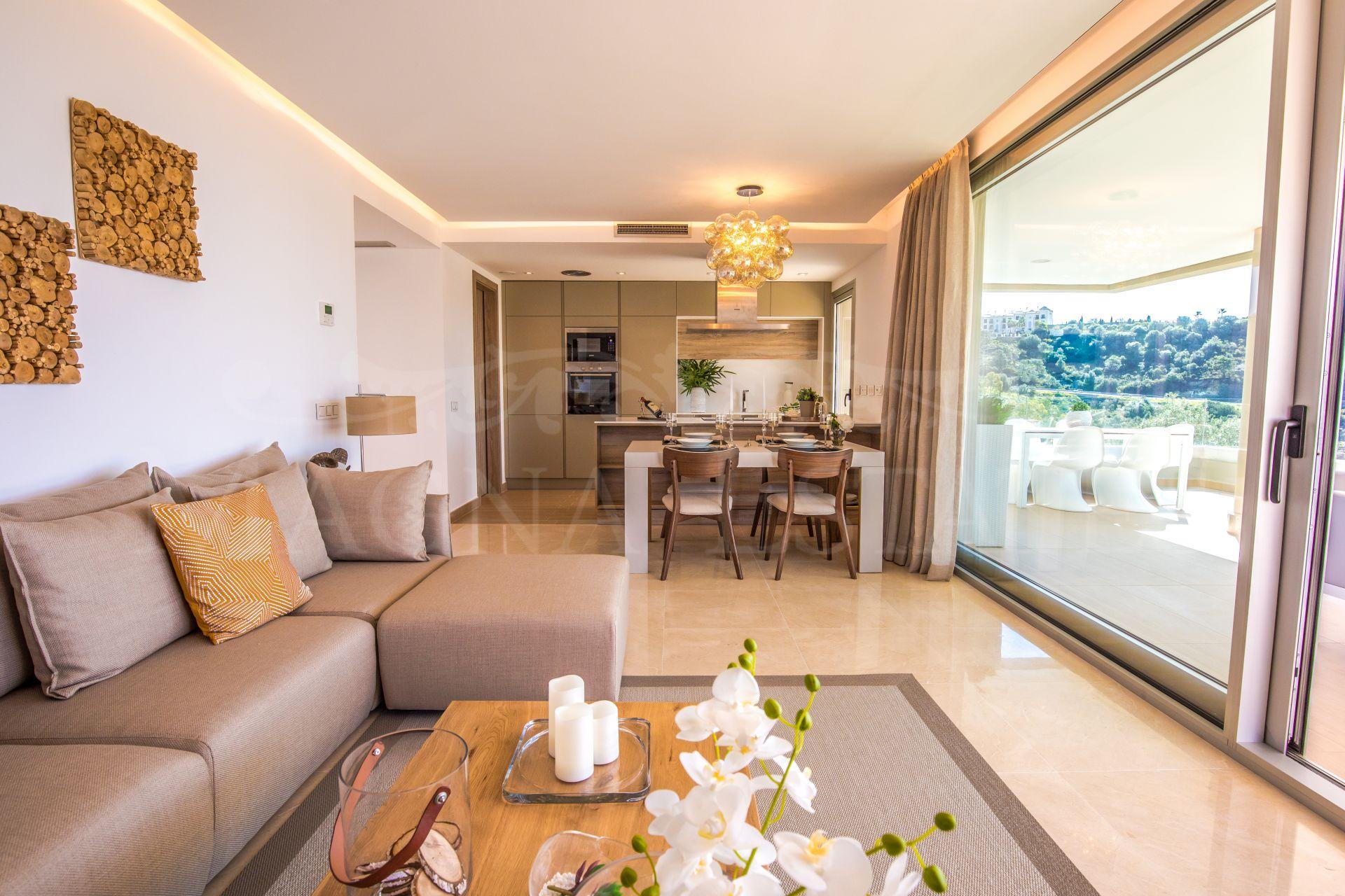 Brand new apartment in the Alcuzcuz Reserve, Benahavís.