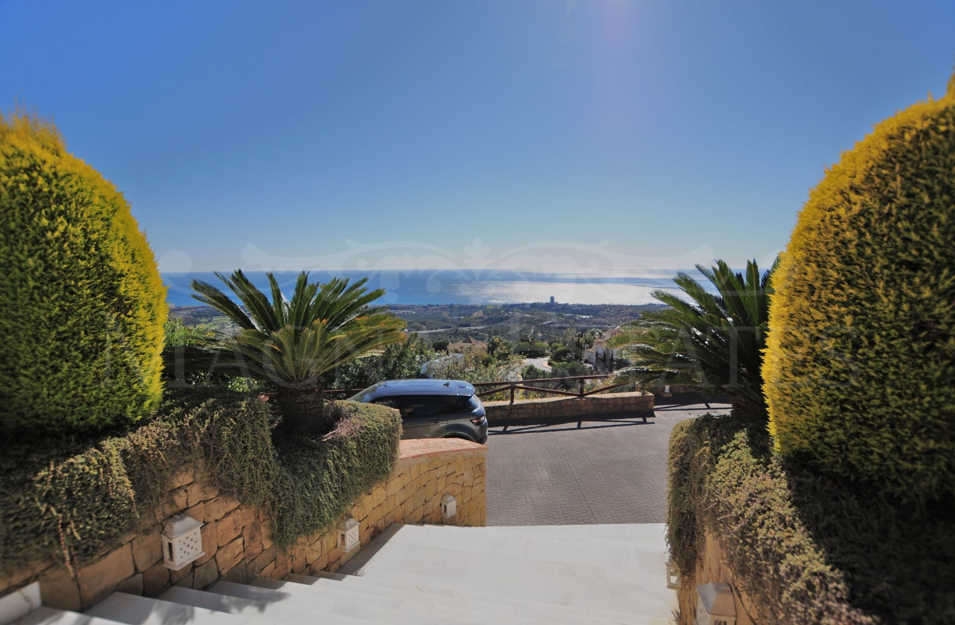 Majestic villa with the best sea views in Marbella