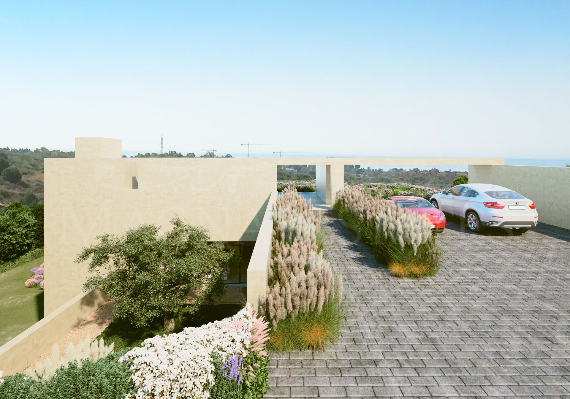 Villa de nueva construcción en Los Flamingos, Estepona