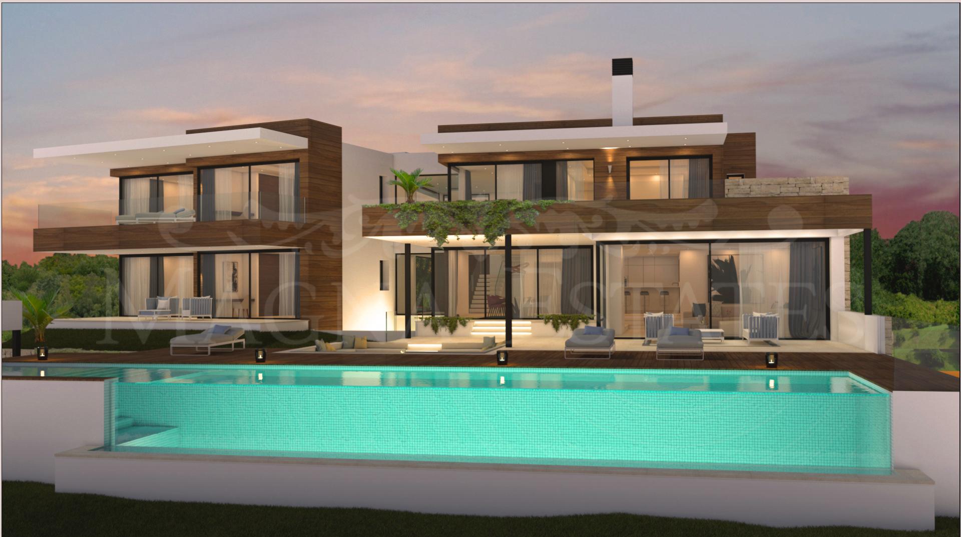 Newly built villa in Los Flamingos, Benahavís