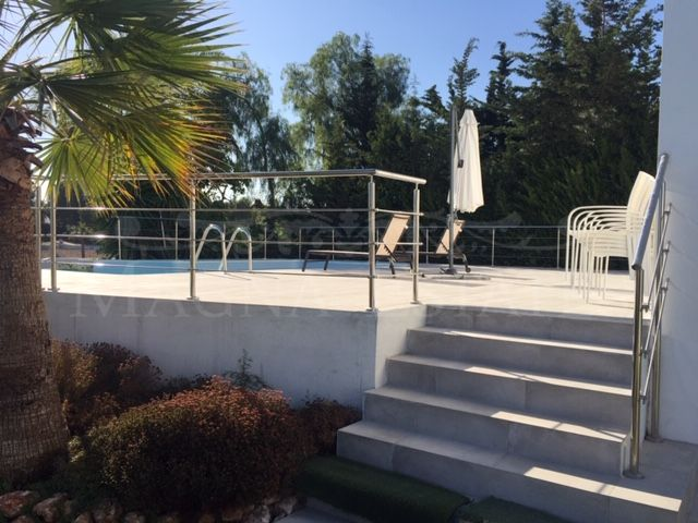Villa completely renovated in the Valley of Golf, Nueva Andalucía
