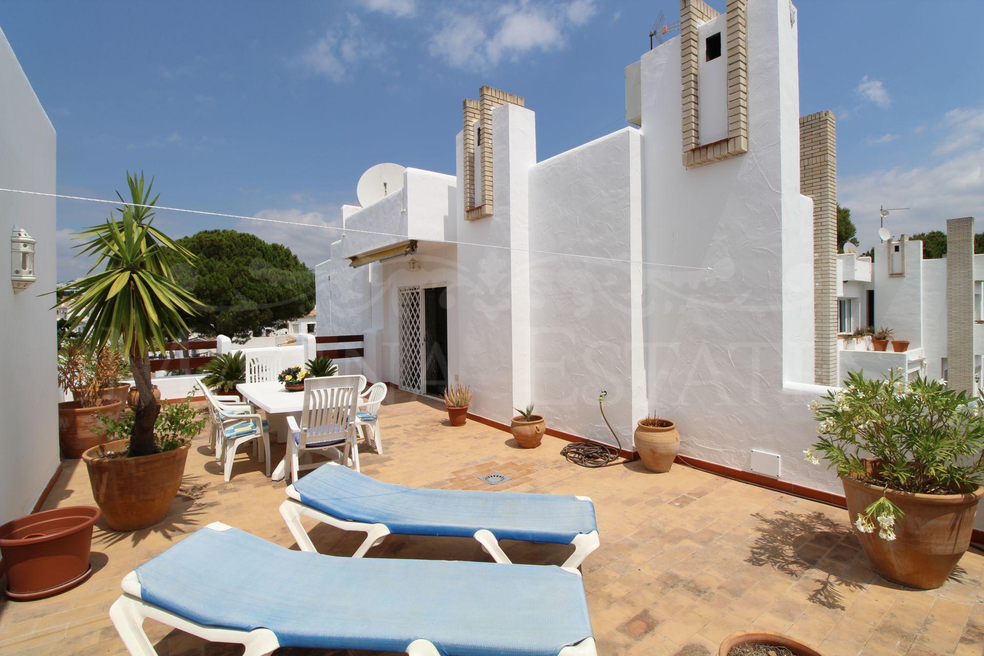 Penthouse in Miragolf II, in front of Las Brisas Golf, Marbella