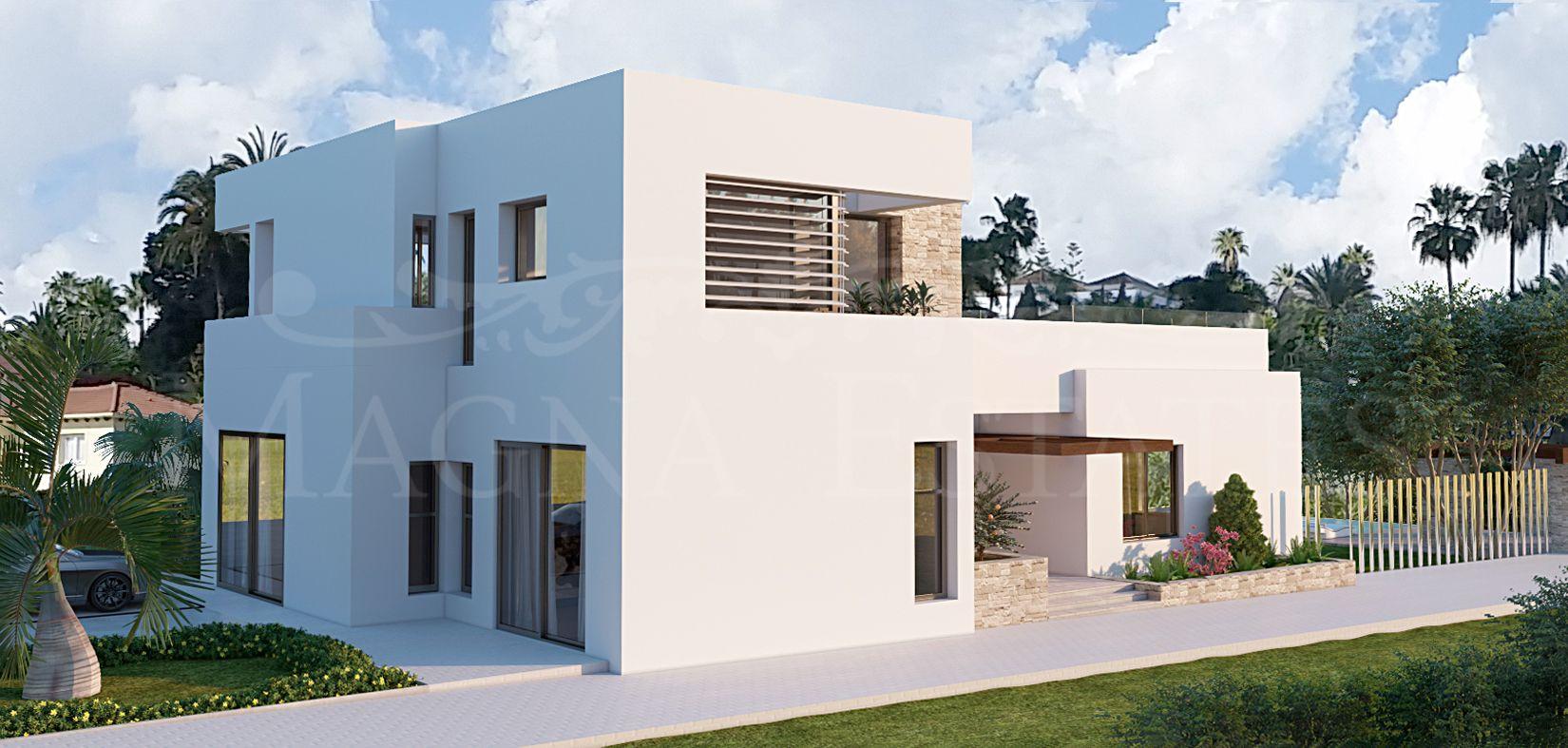 Newly built villa in the Golf Valley, Nueva Andalucía, Marbella.