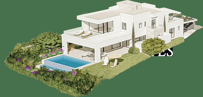 Select and exclusive collection of 10 Luxurious modern villas with frontal Golf & Sea views.