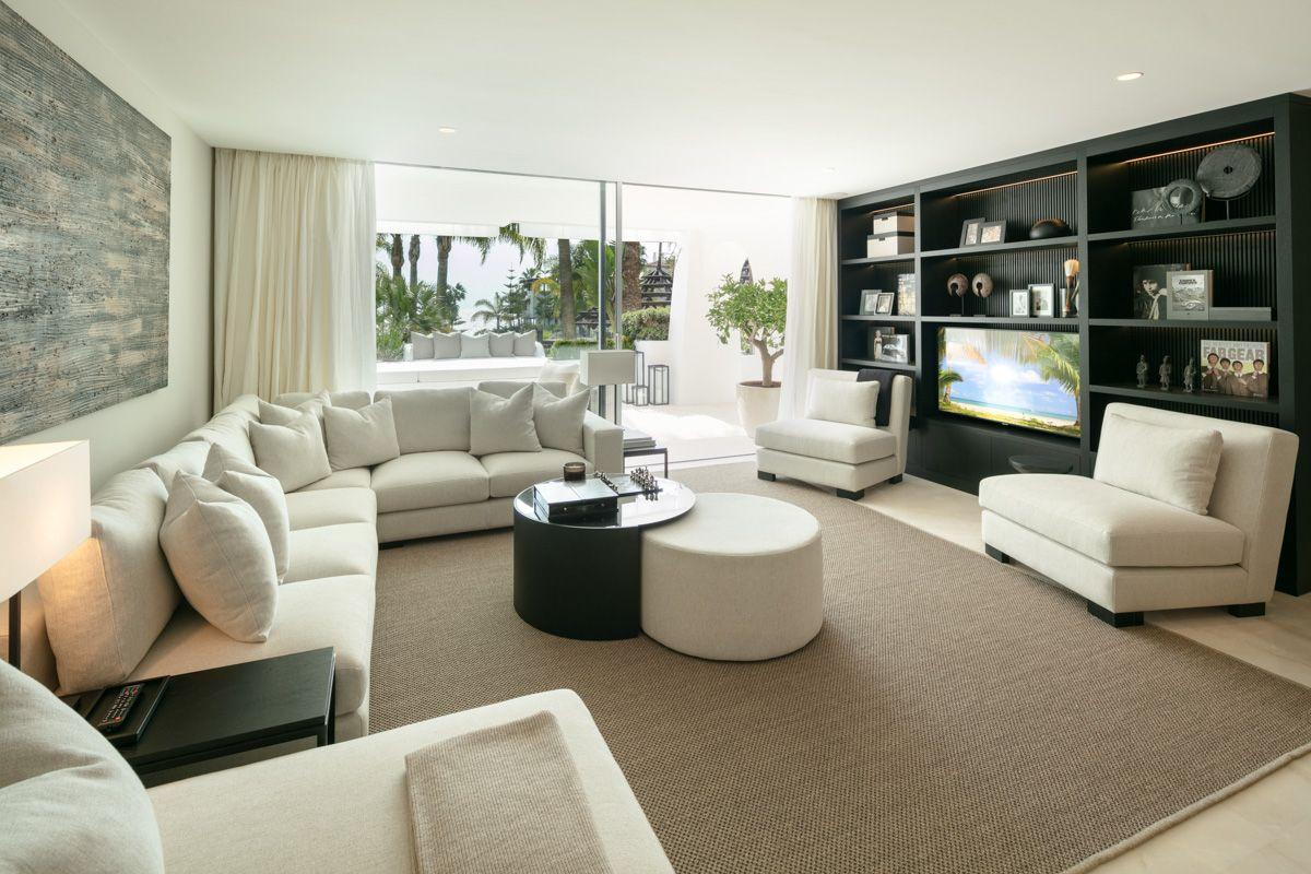 Ground Floor Apartment  in Marina de Puente Romano, Marbella Golden Mile, Marbella