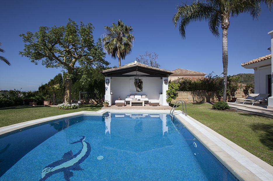 Villa for rent in Nueva Andalucia, Marbella