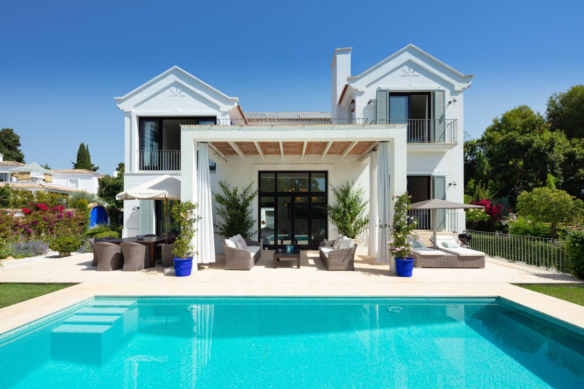 Villa for rent in Santa Margarita, Marbella Golden Mile, Marbella