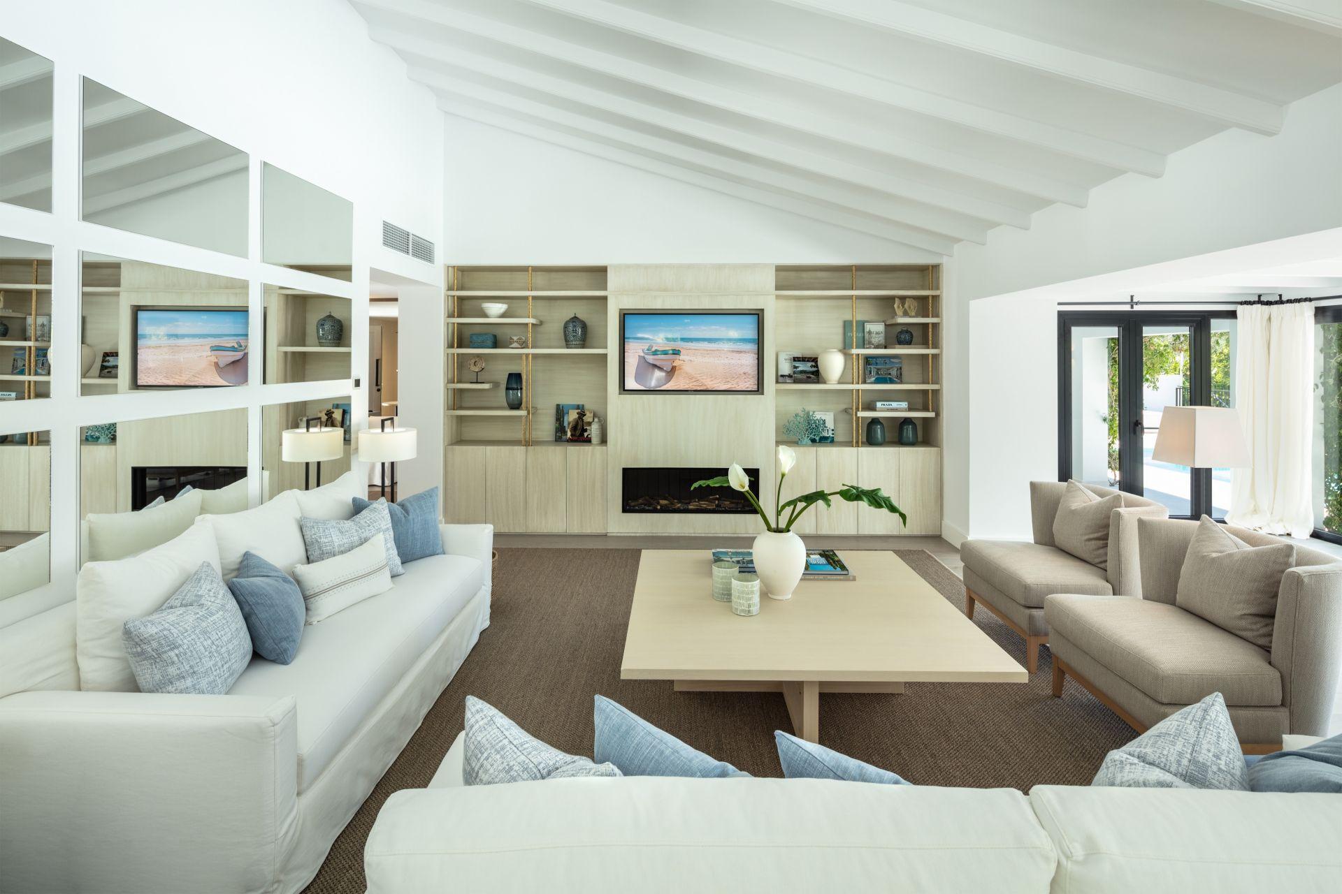 Villa  in Parcelas del Golf, Nueva Andalucia, Marbella
