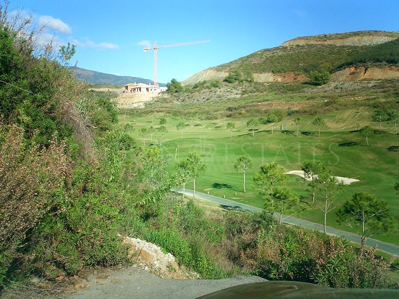 Beautiful plot with golf course views in Marbella Country Club