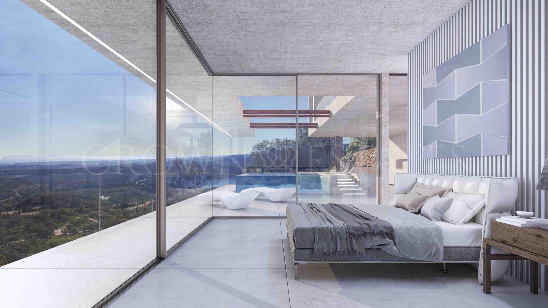 Brand new villa with breathtaking sea views