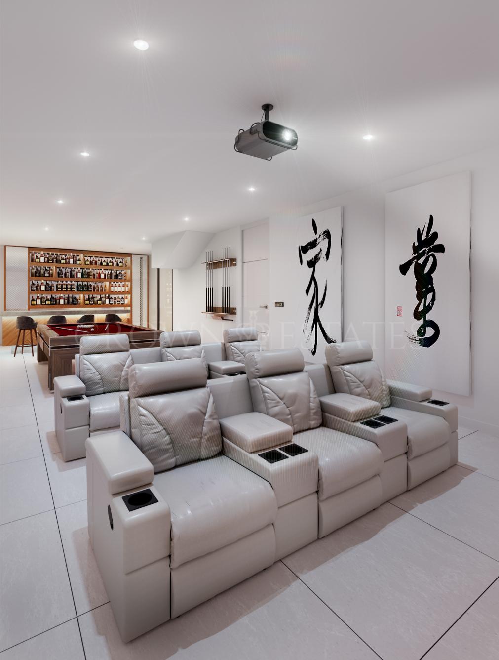 Luxury modern villas located in Rio Verde, Golden Mile in 5 minutes to Puerto Banus