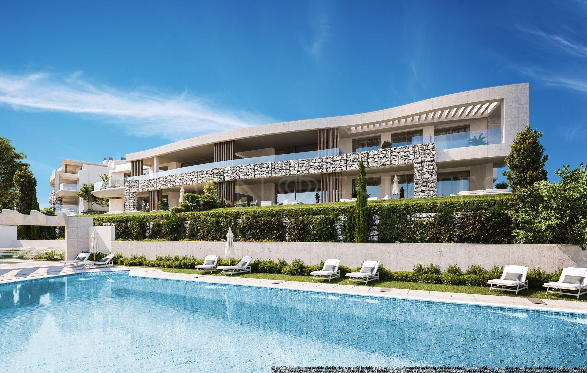 New apartments in a resort in Benahavis