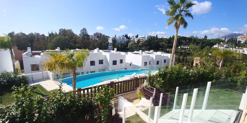 Modern townhouse on Golden Mile,Marbella