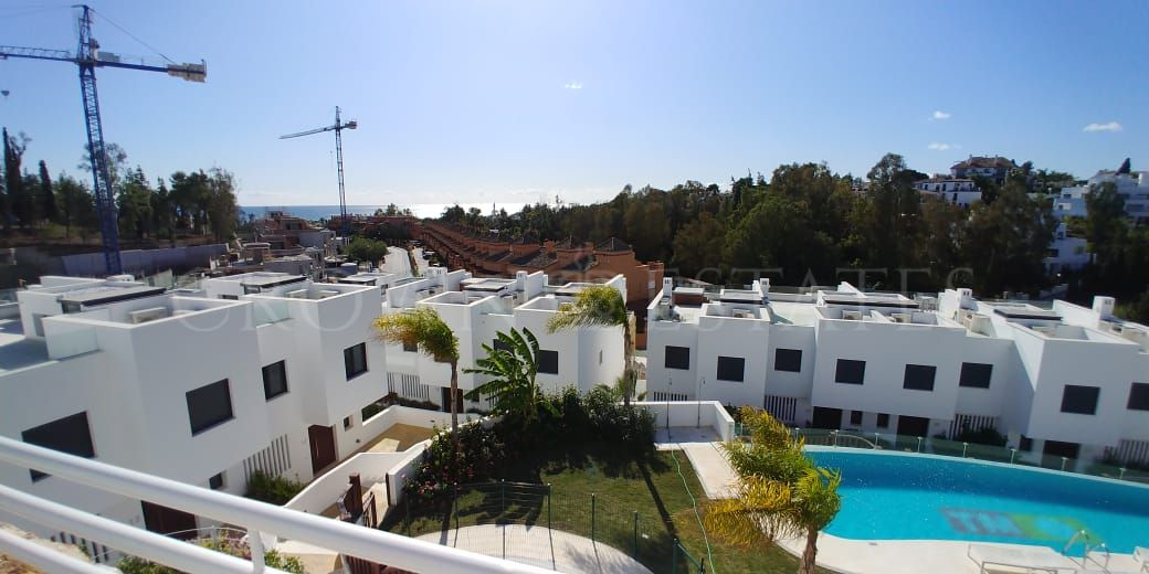 Modern townhouse on Golden Mile,Marbella