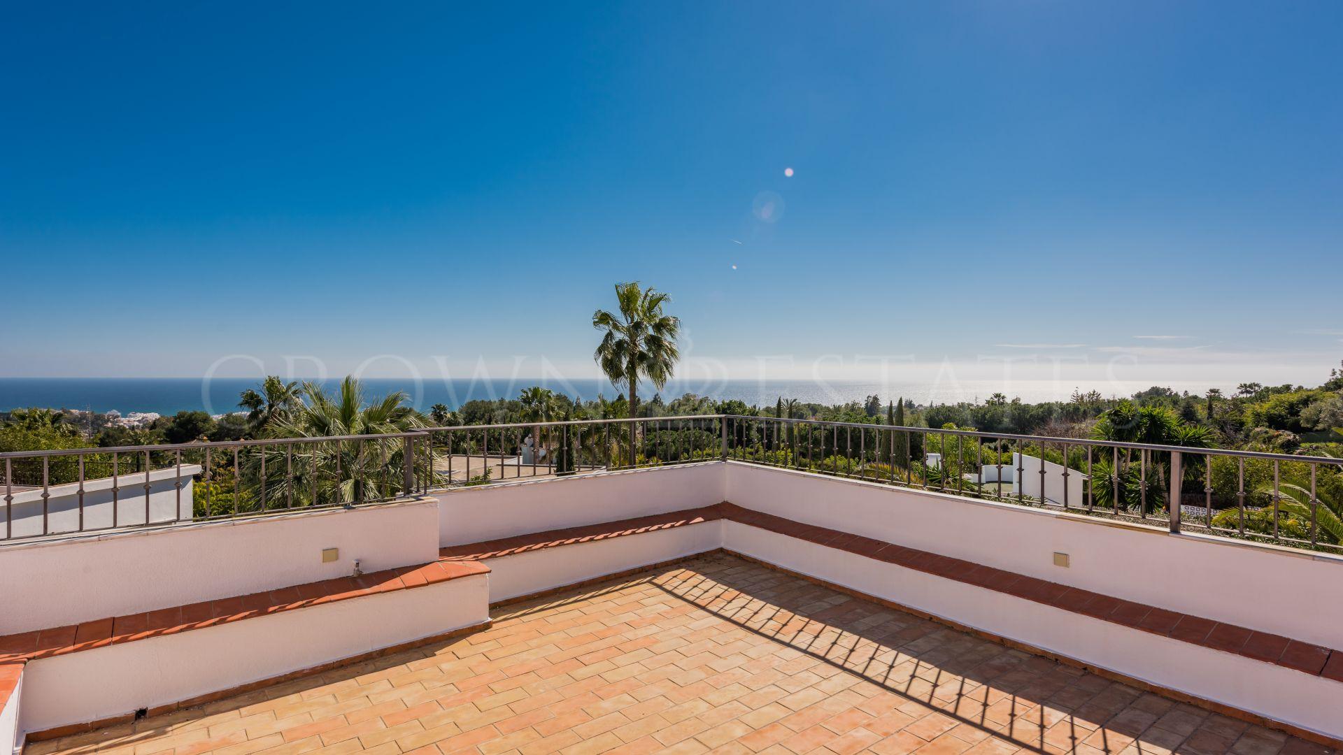 Villa in the private gated community of Altos Reales Marbella