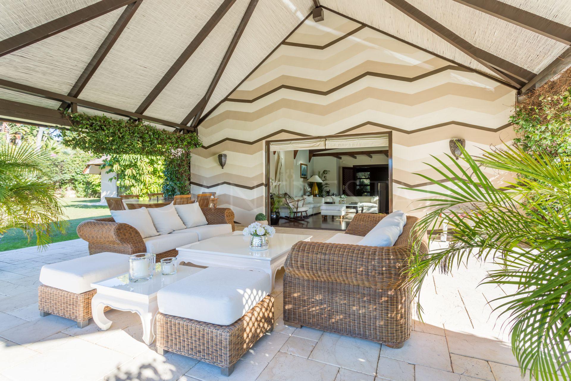 Fantastic villa in los Monteros, Marbella