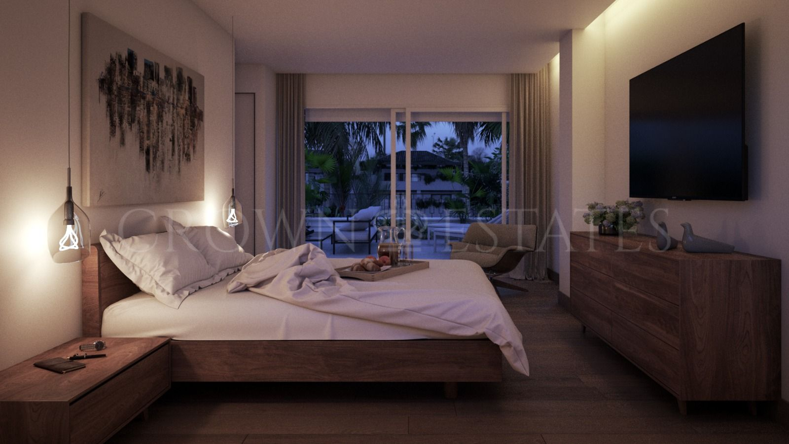 Fantastic three bedroom apartment on Golden Mile,Marbella
