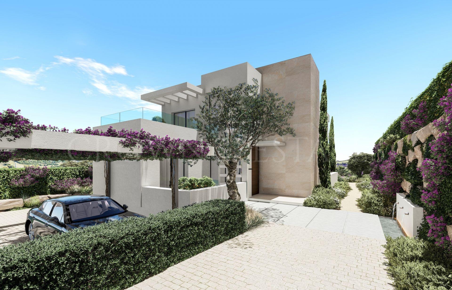 New project of luxurious modern villas in Estepona Golf