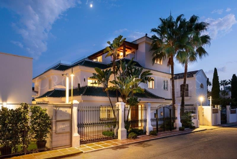 Luxury villa in Golden Mile,Marbella