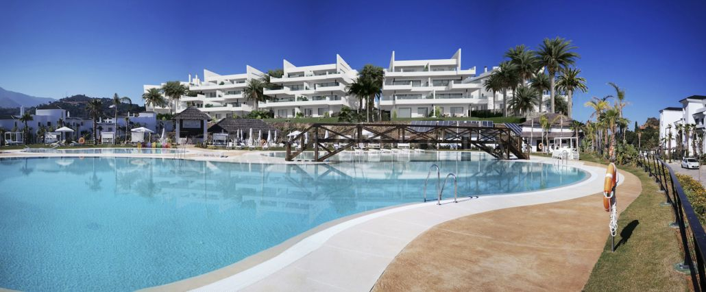 Prestigious apartmentsin a new development in Estepona