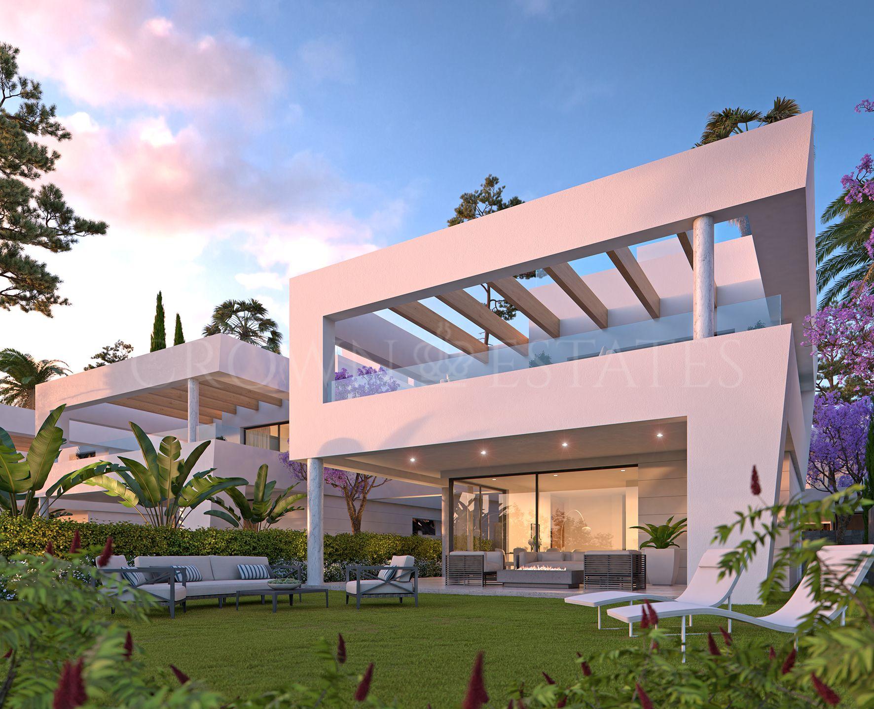 Perlas del Mar, deluxe contemporary beachside villas in San Pedro de Alcántara.