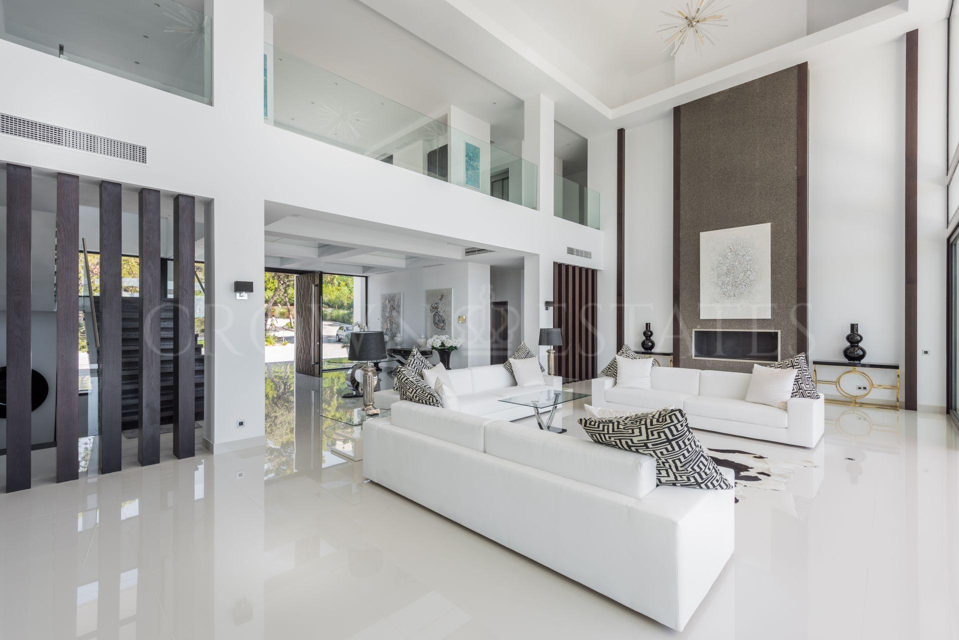 Stately Contemporary Villa in La Zagaleta.