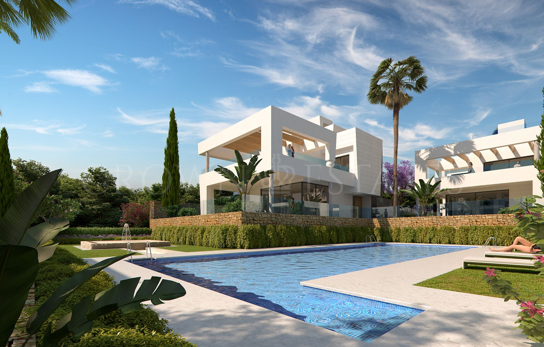 Perlas del Mar, deluxe contemporary beachside villas in San Pedro de Alcántara