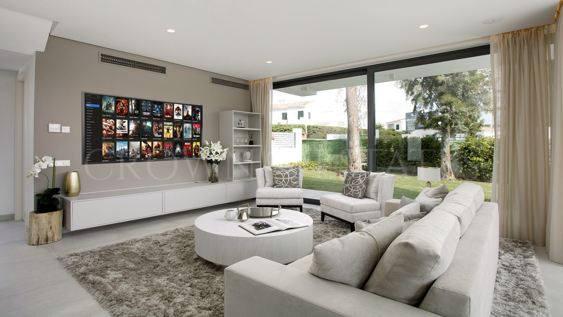 Brand new contemporary villas in Atalaya, Estepona