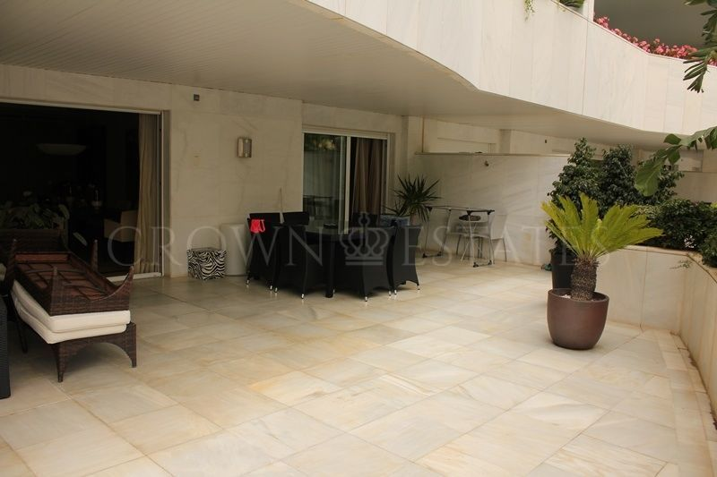 Ground Floor Apartment for sale in El Embrujo Banús, Marbella - Puerto Banus
