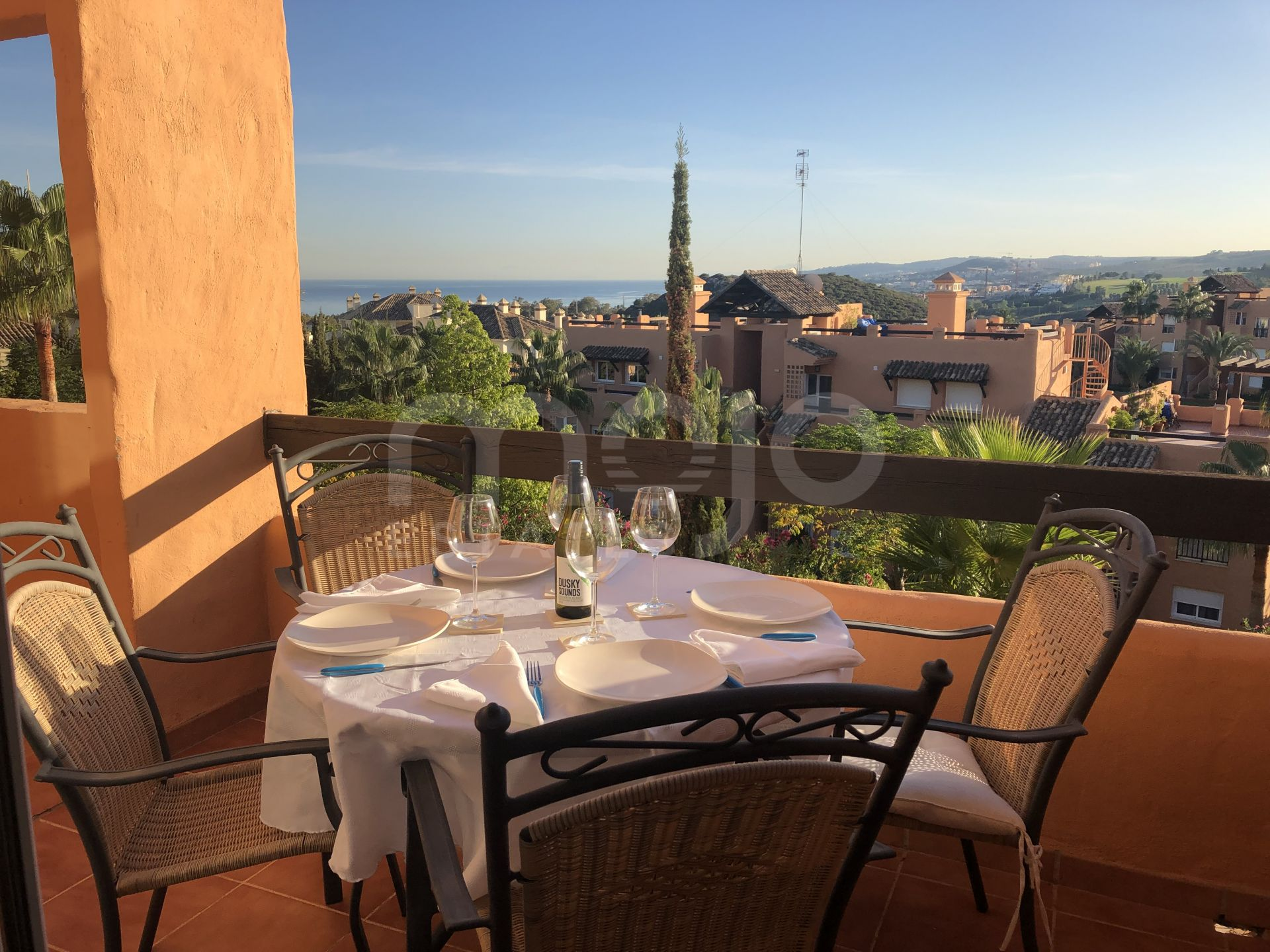 Duplex 2 bedroom Penthouse with Impressive Panoramic Views in Casares del sol, Casares Costa