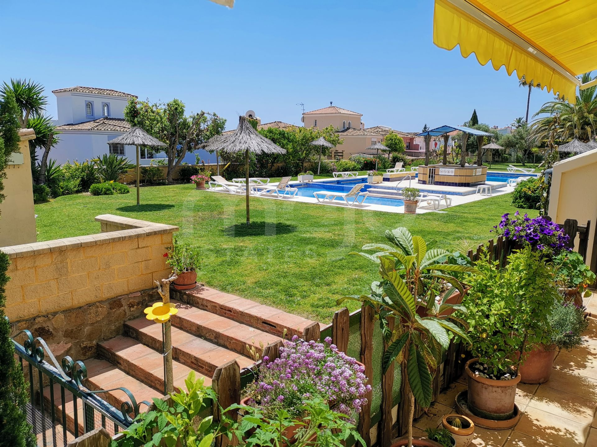 Appartement begane grond te koop in Hacienda Guadalupe, Manilva