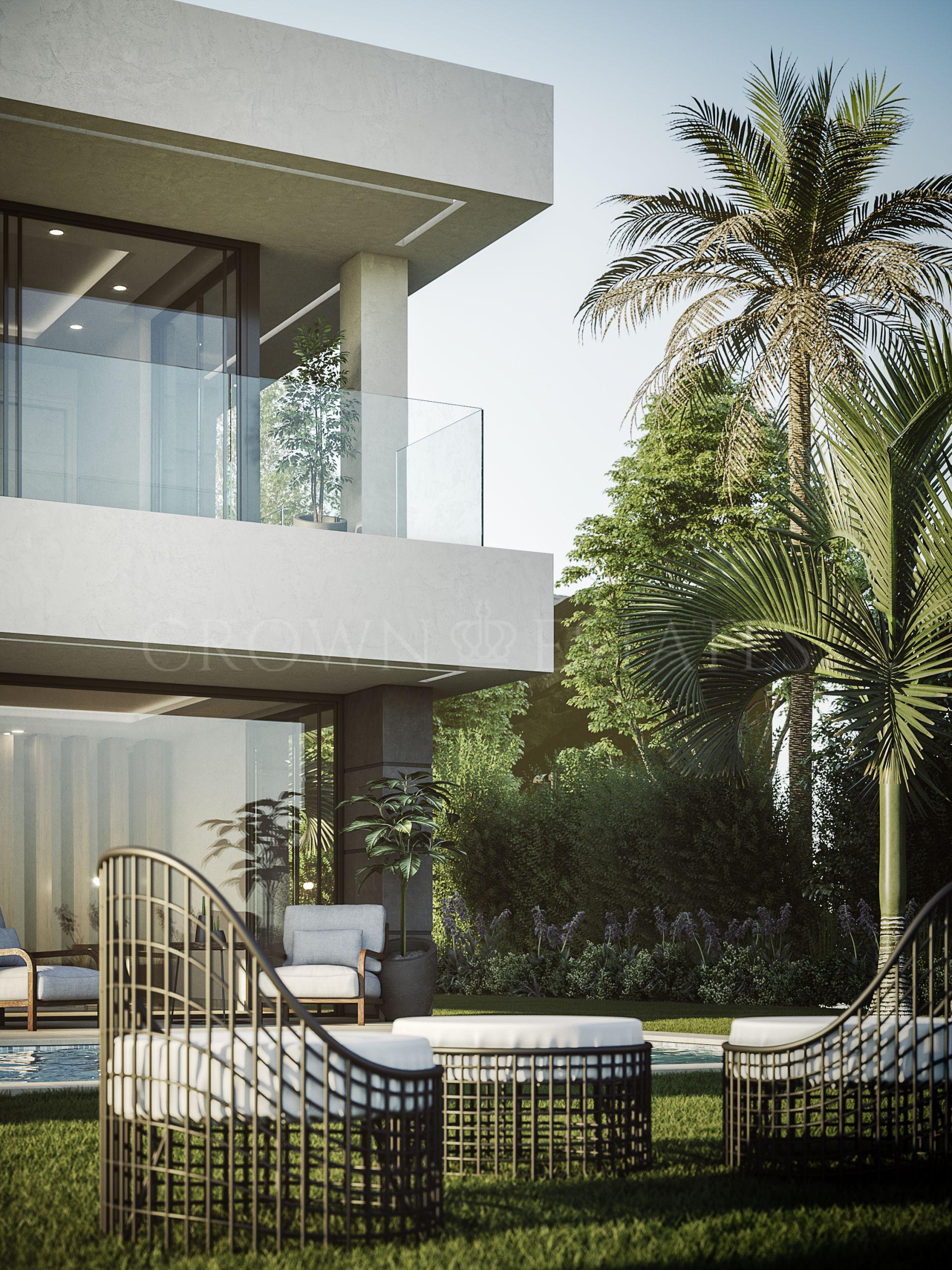 Aquamarina, fresh design villas with amazing panoramic seaviews in Manilva